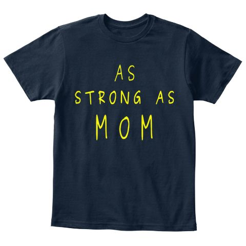 strong like mom! as strong as mom! a very powerful words to be shown by your kids
