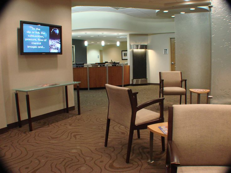 Waiting room chiropractic office waiting reception for Waiting room interior design ideas