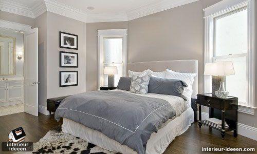 Grijze slaapkamer voorbeelden
