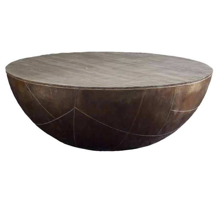 Best 25 drum coffee table ideas on pinterest studio b for Concrete drum coffee table