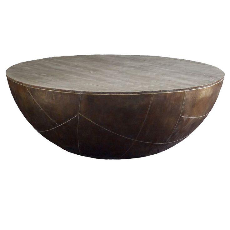 Concrete Drum Coffee Table Best 25 Drum Coffee Table Ideas On Pinterest Studio B
