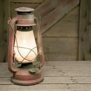 How to Turn an Old Lantern Into a Table Lamp | eHow