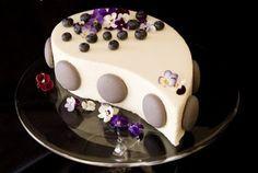 Белая глянцевая глазурь для торта