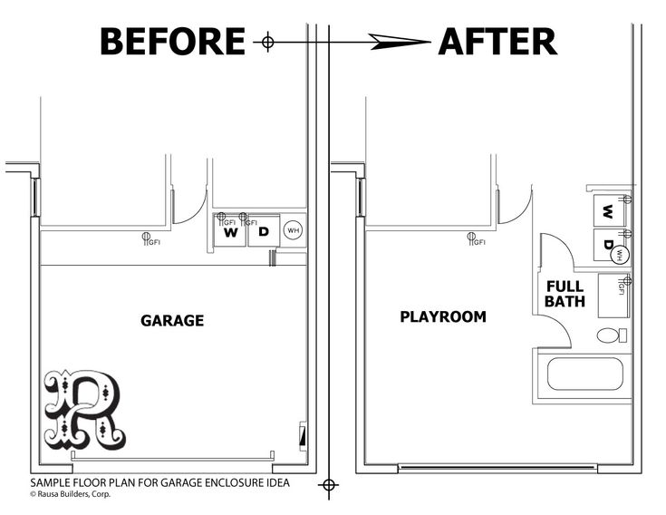 Converting A Garage Into An Apartment garage conversion plans | sample garage conversion plans | garage