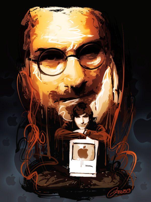 Remembering Steve Jobs: 40 Awesome Artwork Dedications