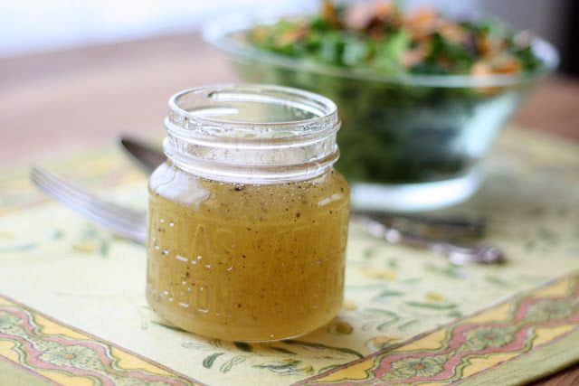 White Balsamic Vinaigrette is an awesome summertime salad dressing!