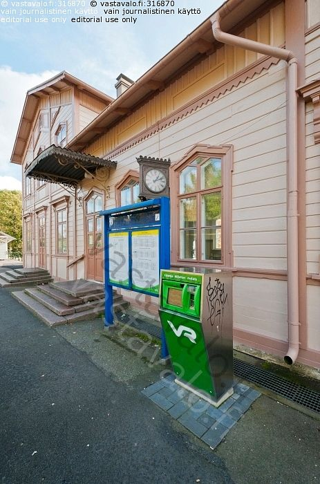 Tammisaaren rautatieasema - Raasepori Tammisaari Ekenäs
