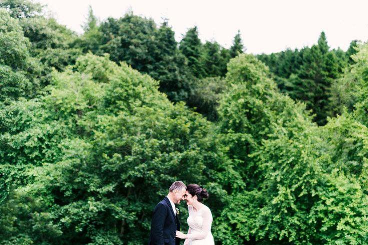 Portrait time amongst the trees with C+J in Edinburgh