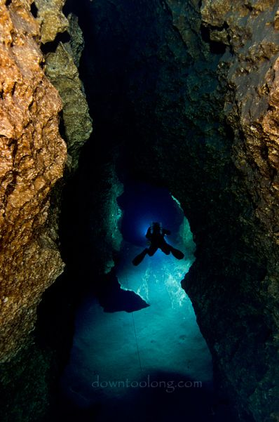 Cave Diving in Peacock Springs, Florida