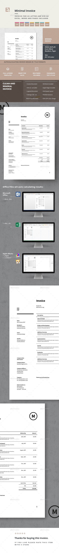 Invoice u2014 Photoshop PSD html invoice invoice