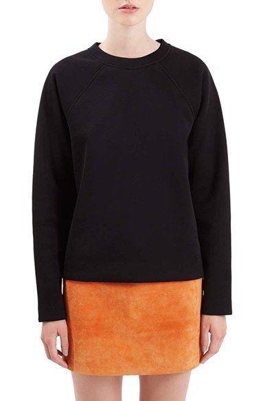 Topshop Boutique Raglan Sweatshirt
