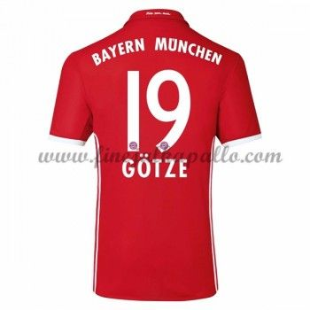 Jalkapallo Pelipaidat Bayern Munich 2016-17 Gotze 19 Kotipaita