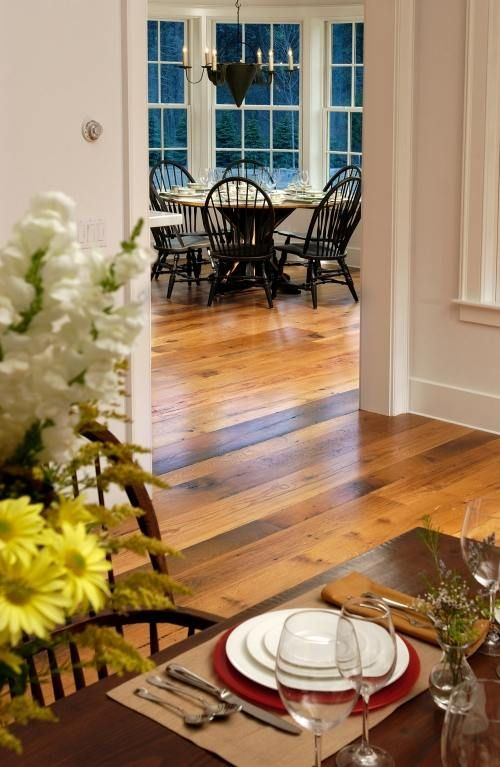 Reclaimed Oak Flooring with medium finish