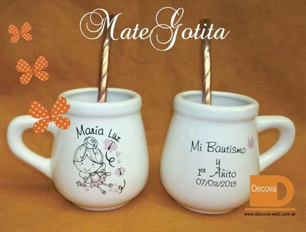 tazas, mates, hornitos, personalizados. decorados para souvenirs