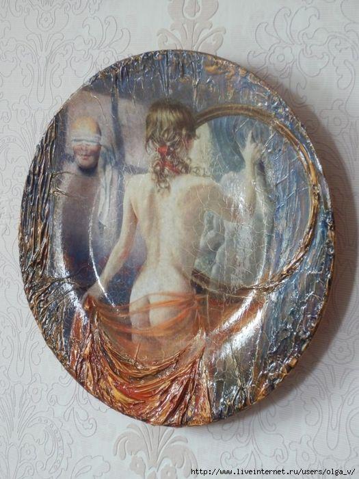 красивая тарелка