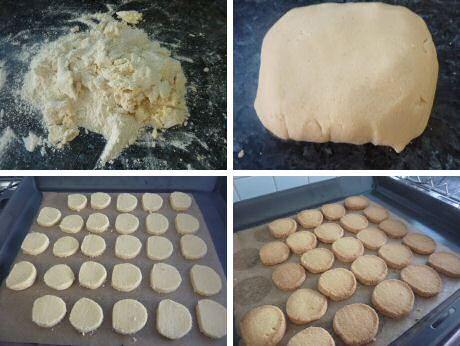 Stap voor stap recept met foto's om lekkere, brokkelige zandkoekjes te maken - Piet Huysentruyt - DONE