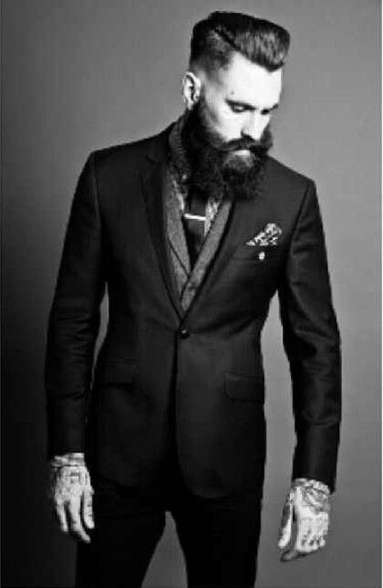 Ricki Hall. I'm obsessed. Look at the amazingness of that beard!