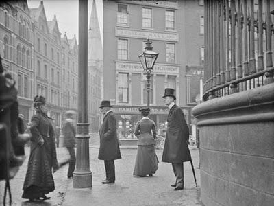 Junction of Nassau St. Grafton St. Dublin