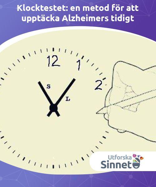 Klocktestet: en metod för att upptäcka Alzheimers tidigt   Klocktestet är ett enkelt diagnostiskt test som kan användas för att upptäcka Alzheimers tidigt och underlätta behandlingen.