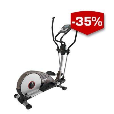 Kettler CTR3 Crosstrainer - kvalitativ crosstrainer av premiummodell, perfekt för hemmabruk! Har du svårt att hinna till gymmet eller skador som hindrar dig från löpspåret? Då är en crosstrainer lösningen på dina problem! En crosstrainer bjuder på effektiv träning av hela kroppen, samtidigt som belastningen blir jämn och smärtfri. Eftersom hela kroppen aktiveras tränas såväl styrka, balans, fettförbränning och kondition. Träna enkelt, träna effektivt, träna hemma!