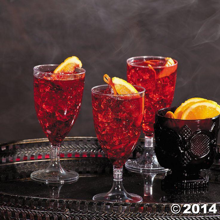 Bloody red rum sangria holiday snacks pinterest sangria - Plastic sangria glasses ...