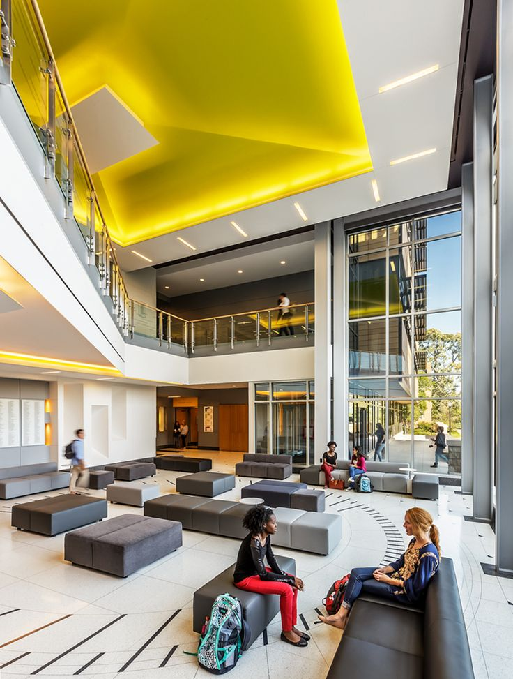 Interior Design North Park University Entrance Lobby Student