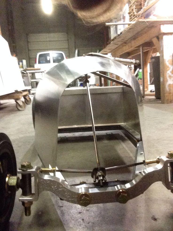 Aluminum Car Construction : Fabricate steering parts building willa a aluminum