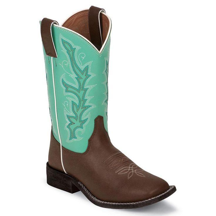 Justin Kid's Western Boots - Kristina