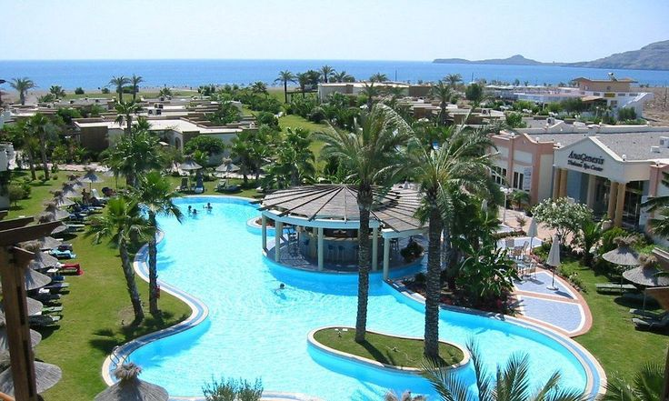 With a stay at Atrium Palace Thalasso Spa Resort & Villas in Rhodes (Lindos), you'll be close to Vlycha Beach and Acropolis of Lindos. This 5-star resort is within close proximity of Lindos Beach and Tomb of Cleobulus. See top hotels in RHodes Islands at http://www.lowestroomrates.com/hotels/rhodes.html