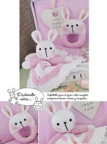 Manta de apego - Crochet Amigurumi