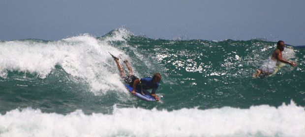 Awesome beaches in the Garden Route - ideal for surfers