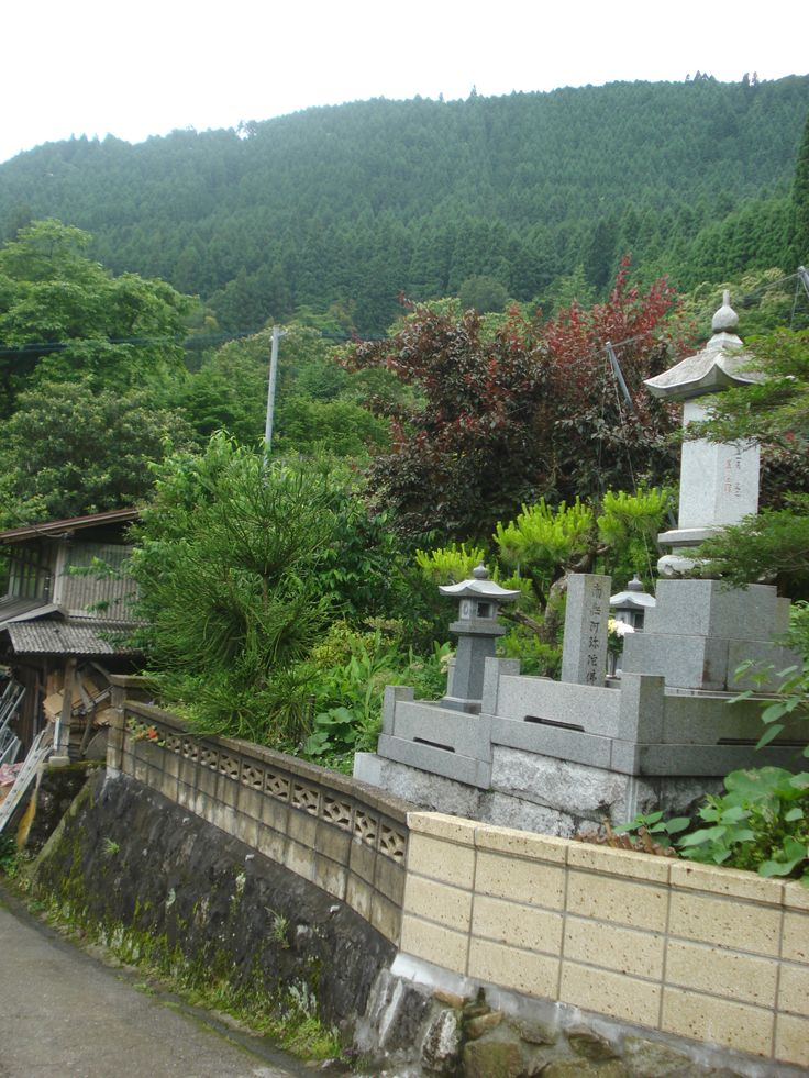 A Typical Japanese Family graveyard