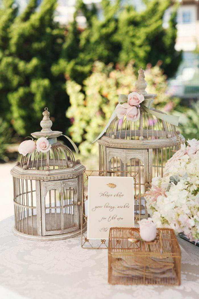 Wedding ● Reception Décor ● Birdcages