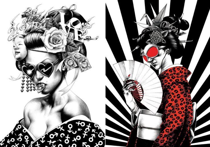O ilustrador japonês Shohei Otomo é filho de Katsuhiro Otomo, o homem por trás da famosa Akira manga. Ele cria desenhos muito realistas e escuro com humor negro. Hoje ele é um ilustrador famoso no …