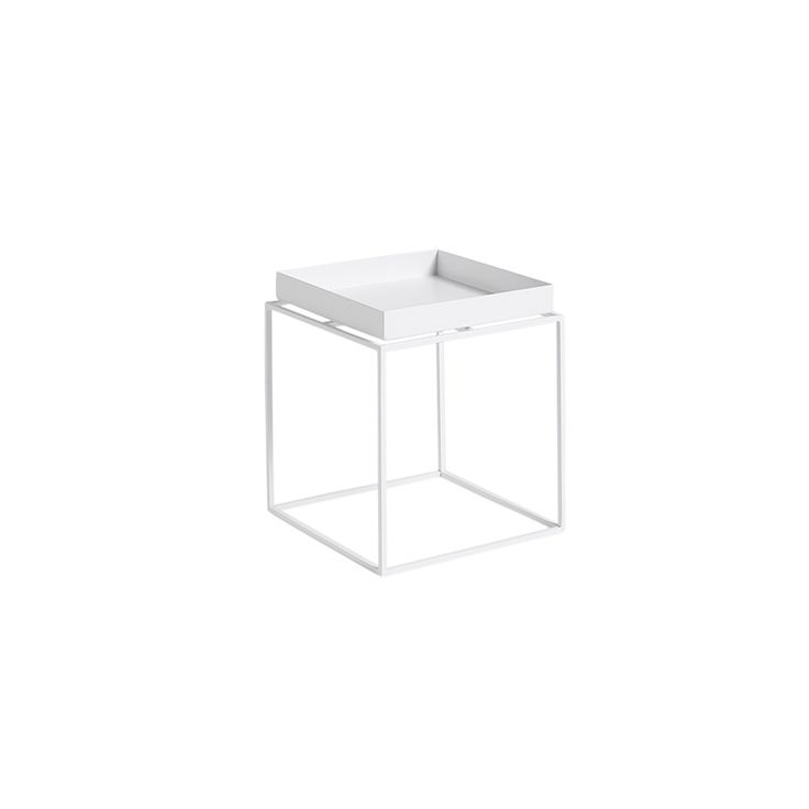 Discover the HAY Tray Table - Small - White at Amara