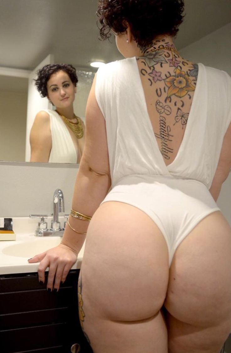 Juicy marshmallow white booty candid 3