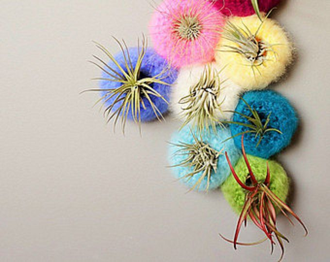 Mini Spun Sea Urchin Pod - such a neat idea!