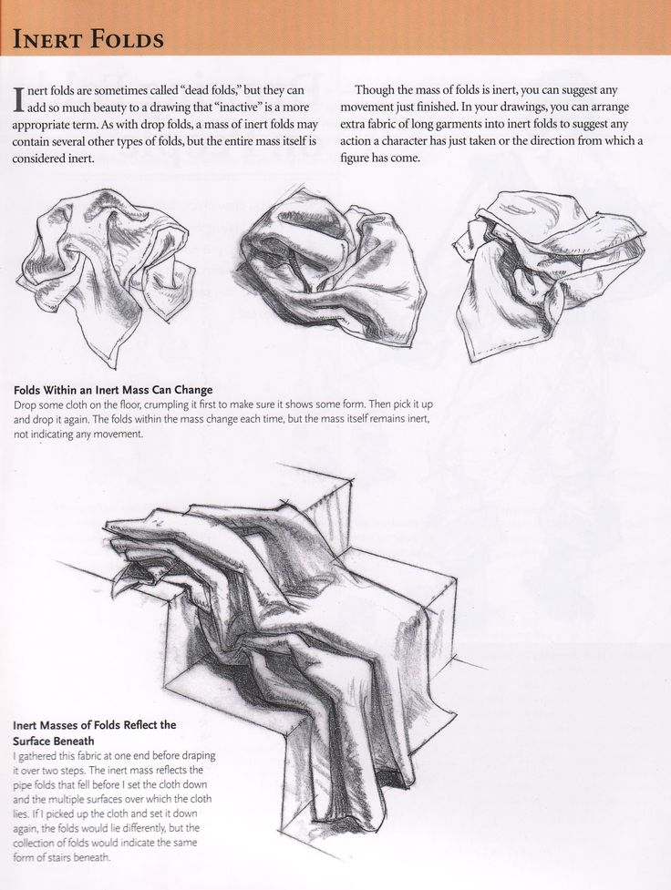 """How to draw folds Notes on how to draw folds back when I was teaching manga classes back in 2006. From the book """"Drawing people"""" by Barbara..."""