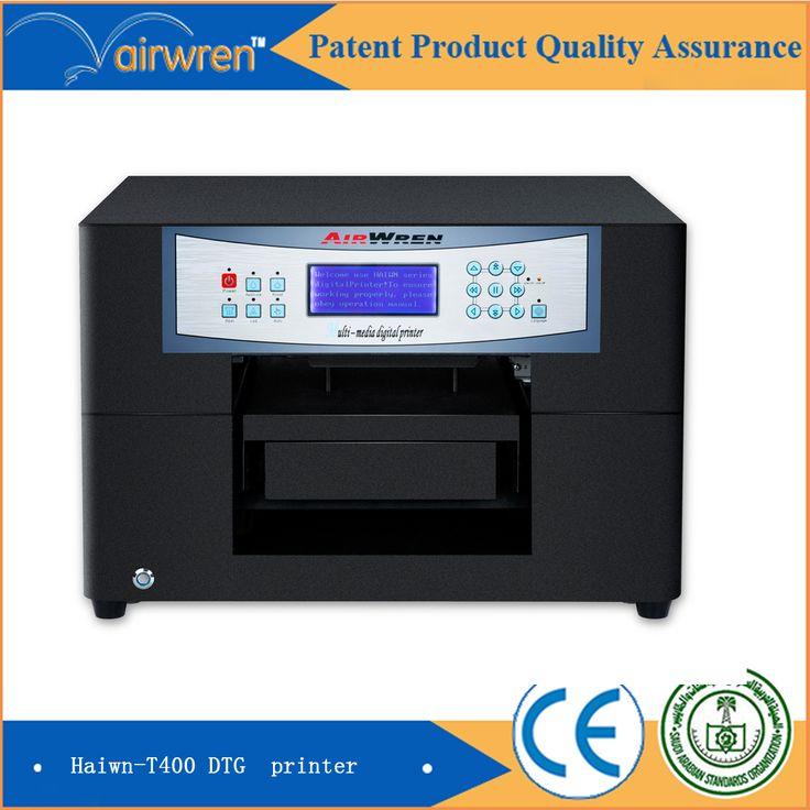 High Resolution 1440dpi Direct to Garment Printer T shirt  Fabric Printing Machine