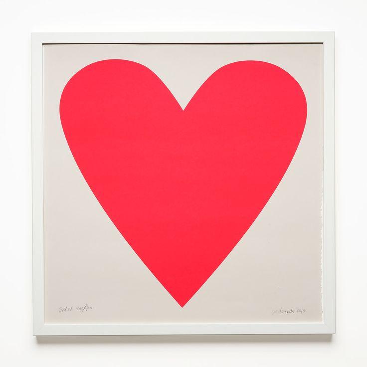 Neon Heart Poster / Unison