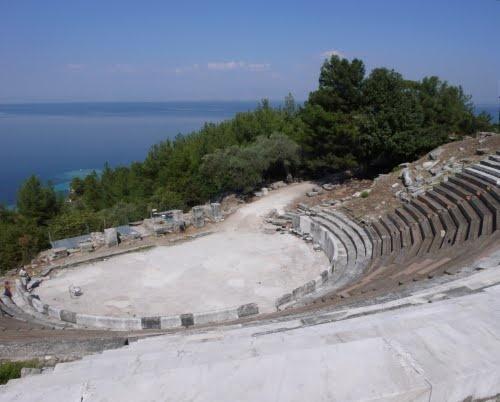 Amphitheatre of Thassos Island, Greece