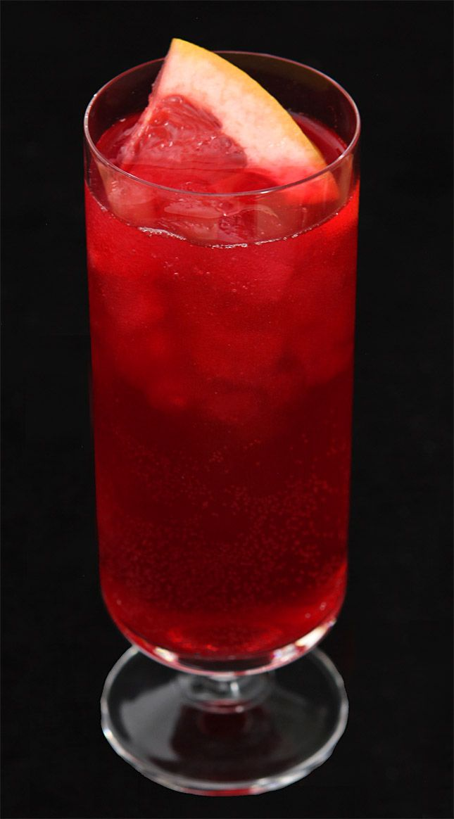 Sparkling Blood Orange and Pomegranate Halloween Punch from @Barb Peterson Peterson | Creative Culinary