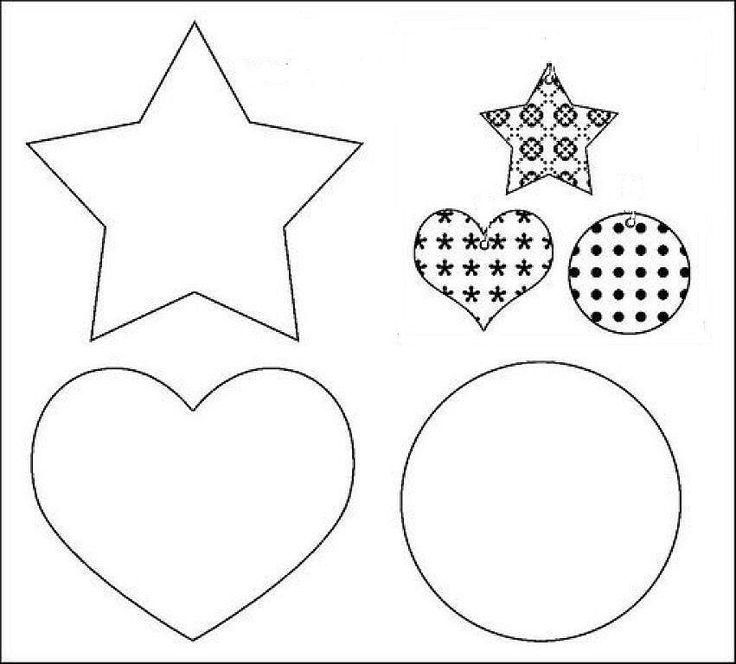 patrones de navidad | ADORNOS PARA ARBOL DE NAVIDAD EN FIELTRO | Aprender manualidades es ...