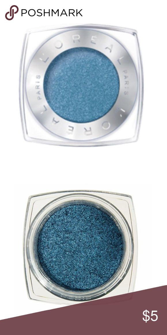Brand New L'Oréal Paris Infallible 24HR Eyeshadow Brand New L'Oréal Paris Infallible 24HR Single Eyeshadow (currently retailing for $8) in the shade '750 - Timeless Blue Spark' ... only ever swatched!  -Intense, maximized color -Luxurious powder-cream texture -24-hour long-lasting hold -Waterproof, crease resistant, fade resistant L'Oreal Makeup Eyeshadow