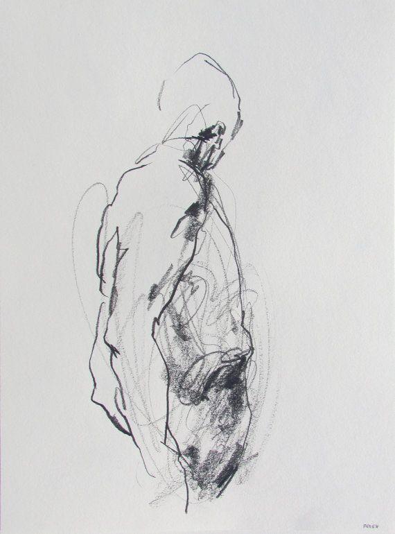 Abstract Figure Art by Derek Overfield.