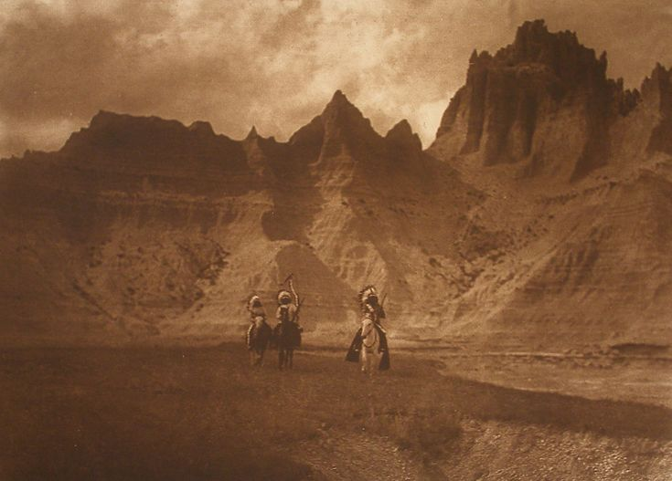 Remnants of the West: Photography by Edward S. Curtis and Mark James. Through January 7, 2018. Dubuque Museum of Art, Dubuque, Iowa www.dbqart.com  Image: Edward S. Curtis In the Bad Lands (detail), #119, 1904 photogravure on Dutch Van Gelder paper, 11.625 x 15.75 in.  Gift of the Dubuque Cultural Preservation Committee, an Iowa general partnership consisting of Dr. Darryl K. Mozena, Jeffrey P. Mozena, Mark Falb, Timothy Conlon and Dr. Randall Lengeling.