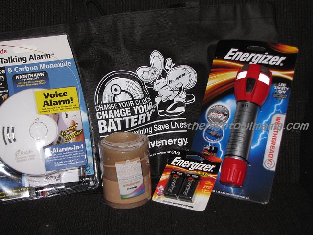 Day Light Savings Time and a Energizer Family Safety Kit #Giveaway