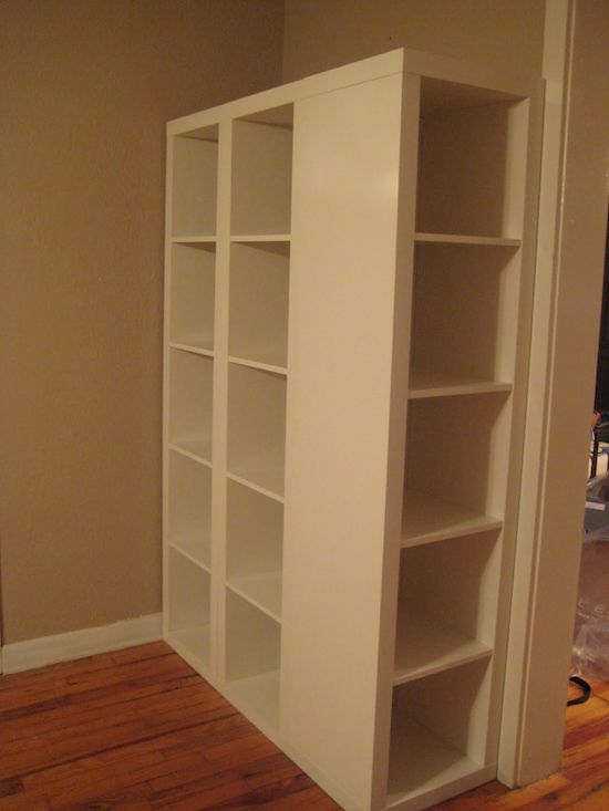 IKEA Expedit Shelf Redesign Hack