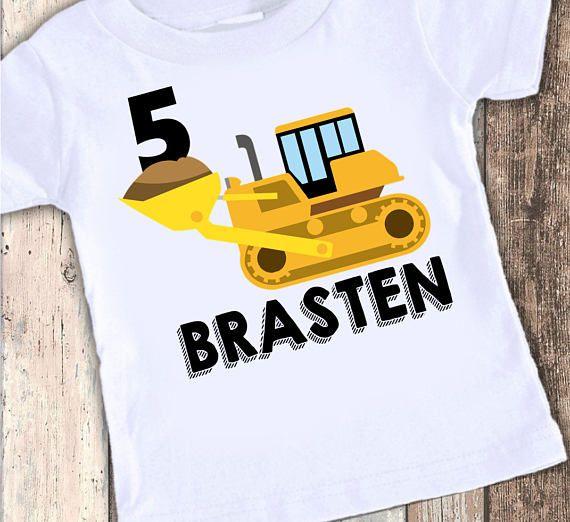 Chemise Shirt danniversaire de camion à benne basculante