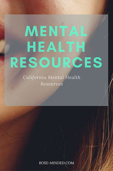 Mental Health Resources for Central Coast California! Find mental illness and health resources for substance abuse, sexual assault, suicide prevention, and more!